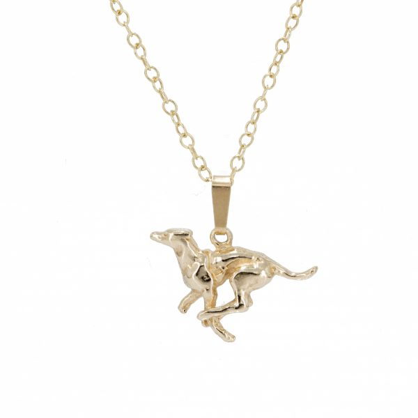running greyhound pendant g2