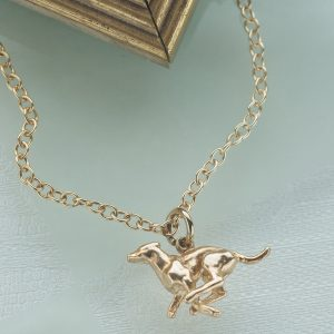 running greyhound pendant