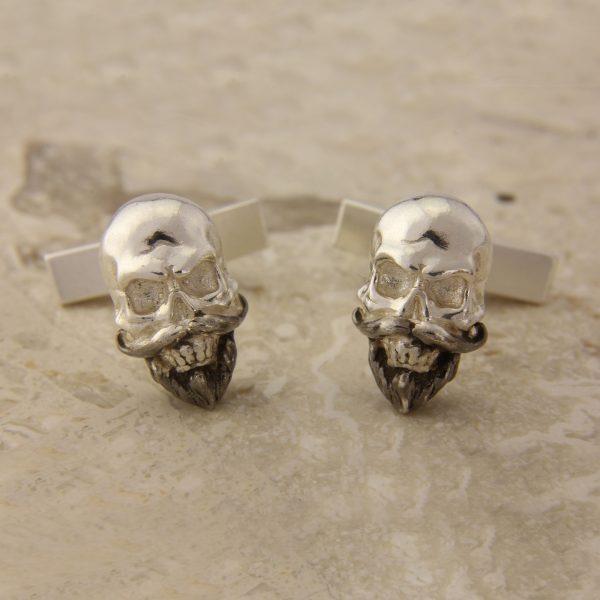 Skull Cufflinks SS