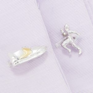 athlete and running shoe cufflinks GS