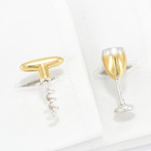 Wine Cufflinks GS