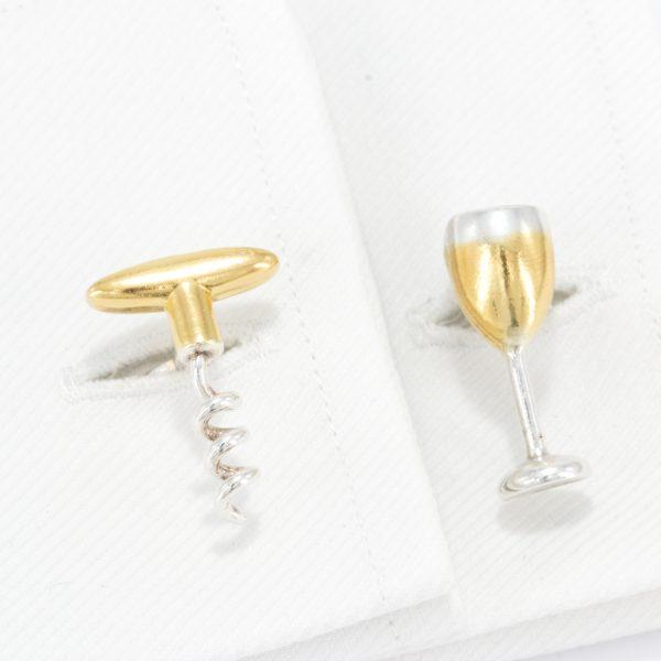 Wine Cufflinks GS