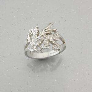 Welsh Dragon Rings